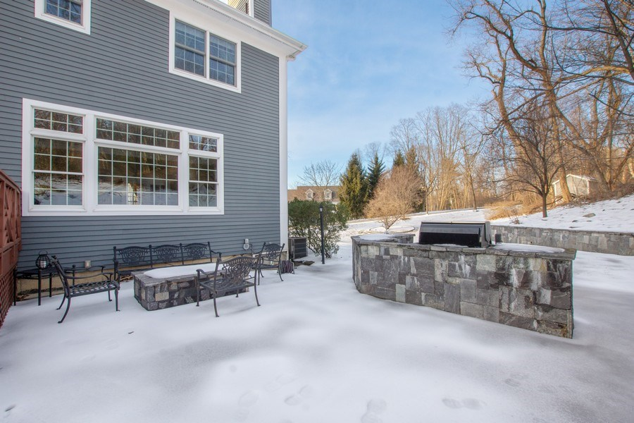 Real Estate Photography - 21 Admiral Wordens Lane, Briarcliff Manor, NY, 10510 - Back Yard
