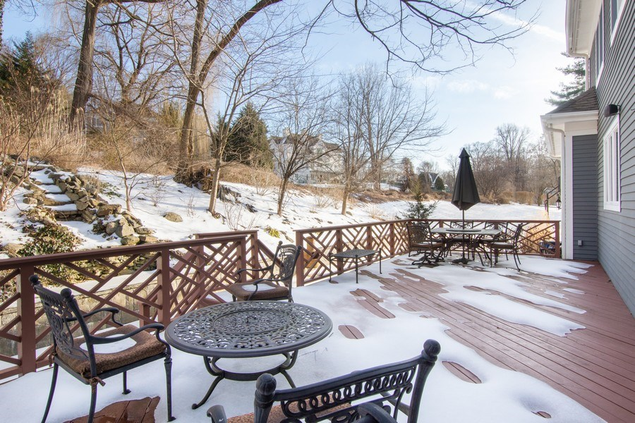 Real Estate Photography - 21 Admiral Wordens Lane, Briarcliff Manor, NY, 10510 - Deck