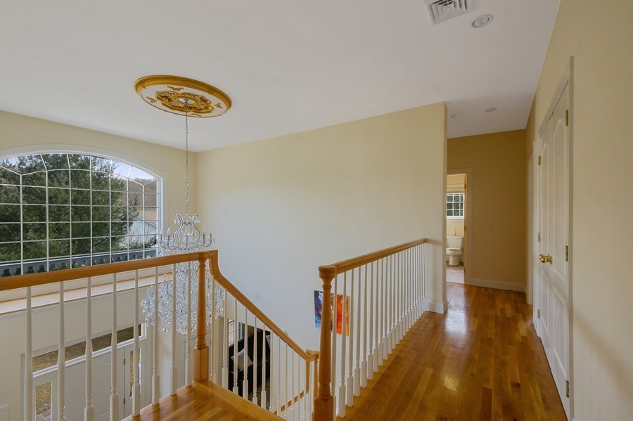 Real Estate Photography - 1B Summerland Lane, Briarcliff Manor, NY, 10510 - Chandelier with medallion