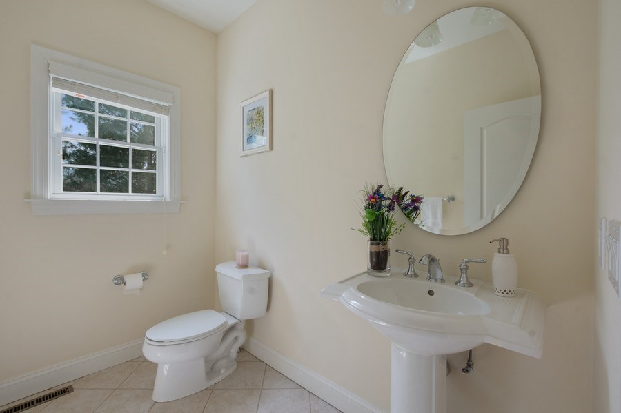 Real Estate Photography - 1B Summerland Lane, Briarcliff Manor, NY, 10510 - Powder Room