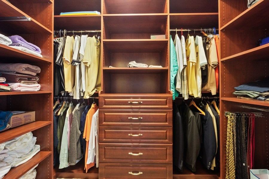 Real Estate Photography - 1B Summerland Lane, Briarcliff Manor, NY, 10510 - Master Bedroom Closet