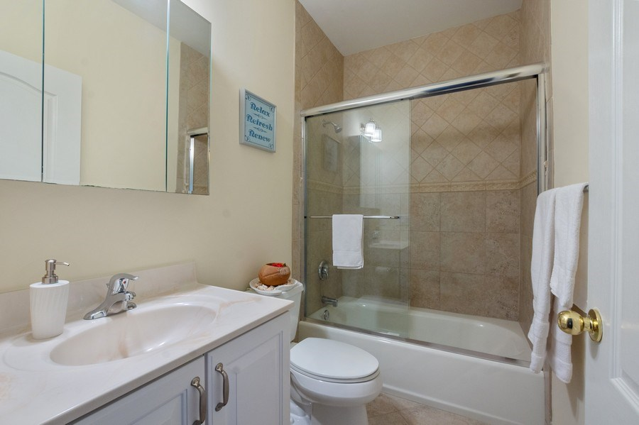 Real Estate Photography - 1B Summerland Lane, Briarcliff Manor, NY, 10510 - 2nd Bathroom