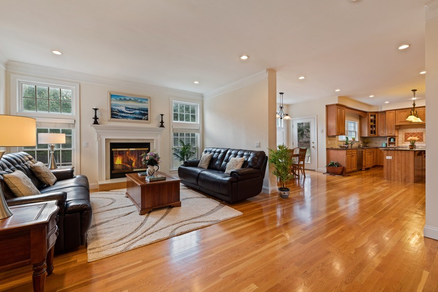 Real Estate Photography - 1B Summerland Lane, Briarcliff Manor, NY, 10510 - Family Room/Kitchen