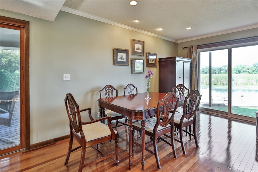 Real Estate Photography - 5474, Mound, MN, 55364 - Dining Room