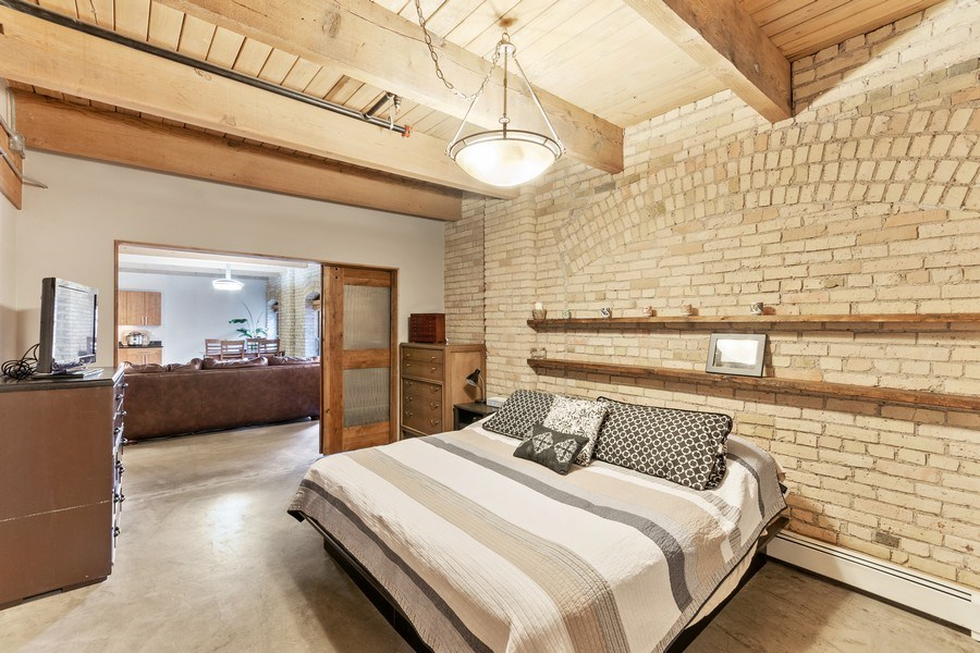 Real Estate Photography - 404 Washington Ave N, 501, Minneapolis, MN, 55401 - Master Bedroom