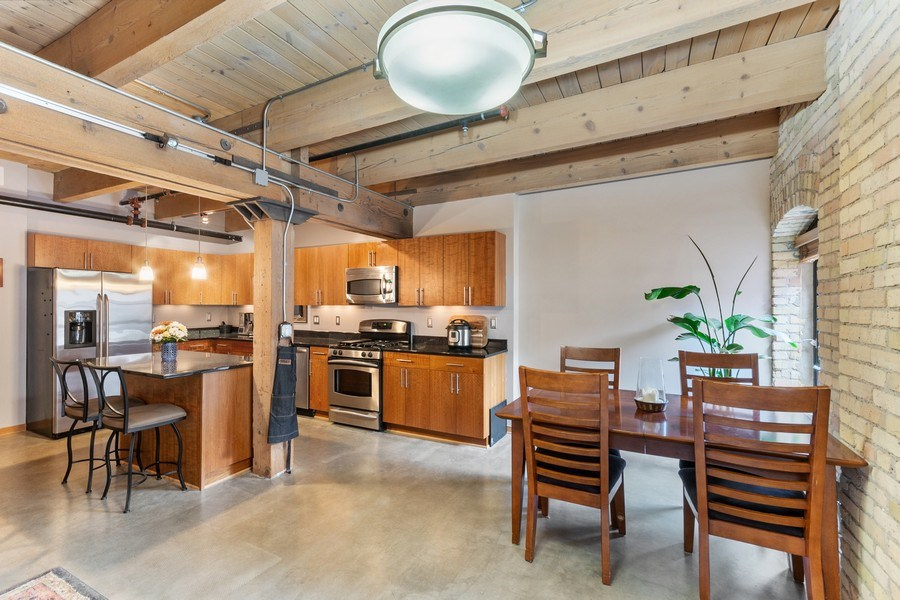 Real Estate Photography - 404 Washington Ave N, 501, Minneapolis, MN, 55401 - Kitchen / Dining Room