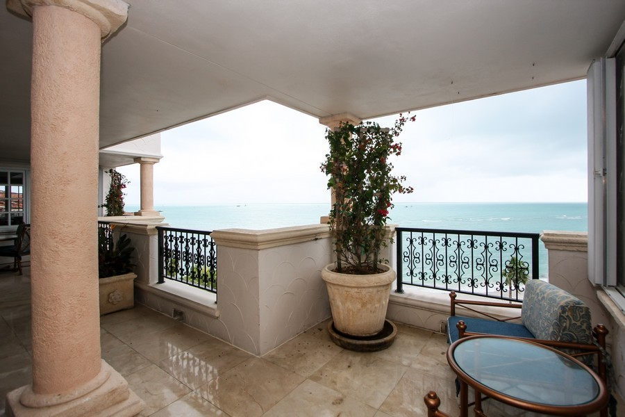 Real Estate Photography - 7972 Fisher Island Drive, 7972, Fisher Island, FL, 33109 - Terrace 3