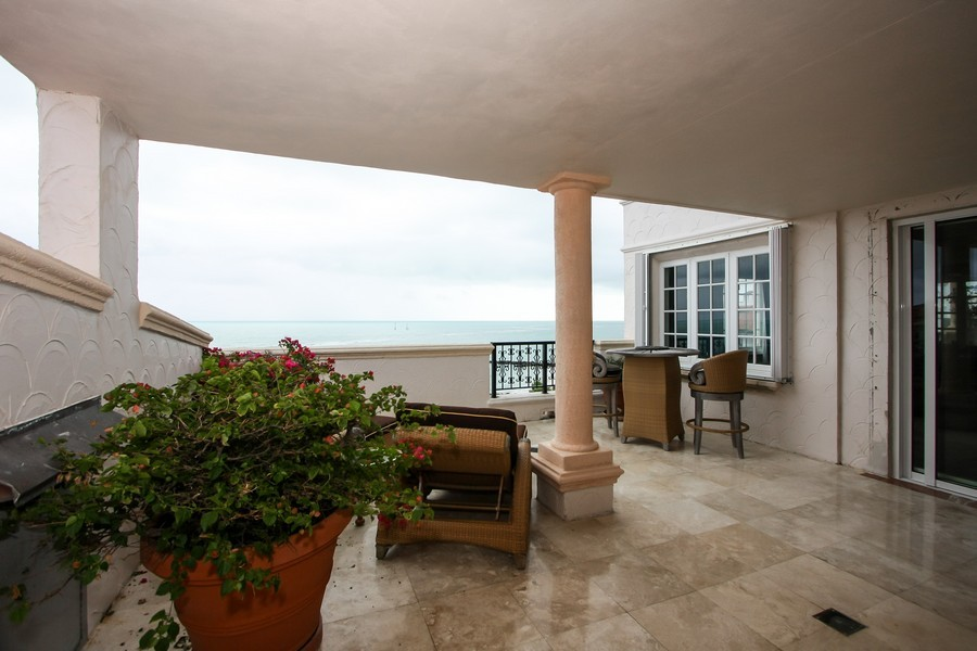 Real Estate Photography - 7972 Fisher Island Drive, 7972, Fisher Island, FL, 33109 - Terrace 4