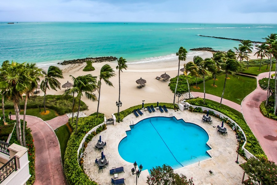 Real Estate Photography - 7972 Fisher Island Drive, 7972, Fisher Island, FL, 33109 - Pool