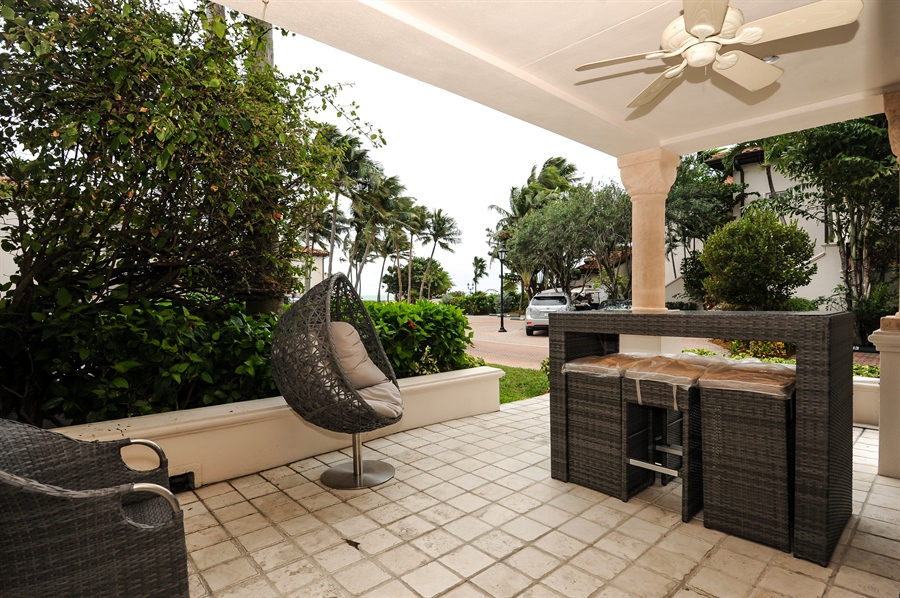 Real Estate Photography - 15513 fisher island drive, 15513, fisher island, FL, 33109 - Terrace