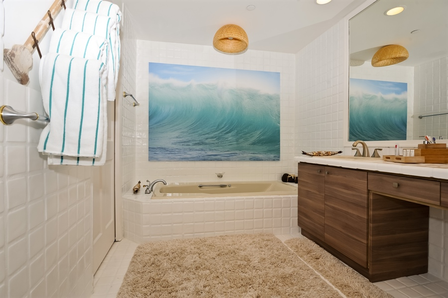 Real Estate Photography - 15513 fisher island drive, 15513, fisher island, FL, 33109 - Master Bathroom