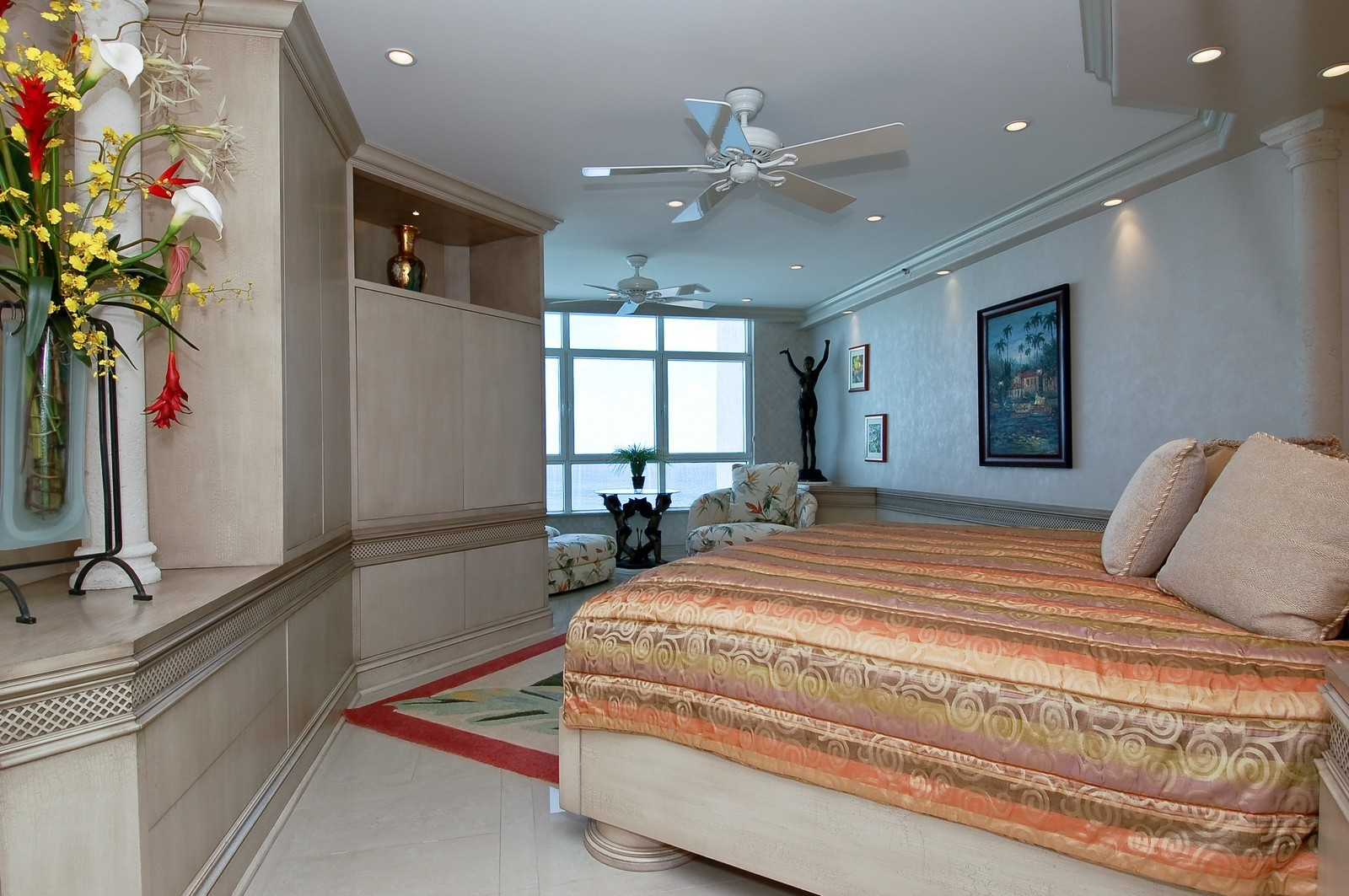 Real Estate Photography - 1700 S Ocean Blvd, 22C, Lauderdale by the Sea, FL, 33062 - Master Bedroom