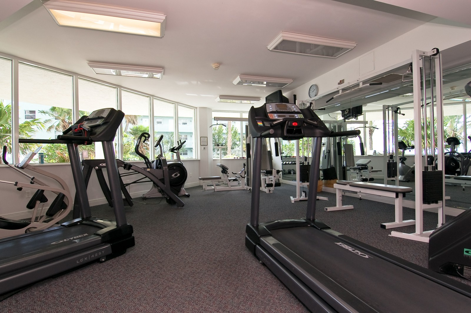 Real Estate Photography - 1700 S Ocean Blvd, 22C, Lauderdale by the Sea, FL, 33062 - Gym