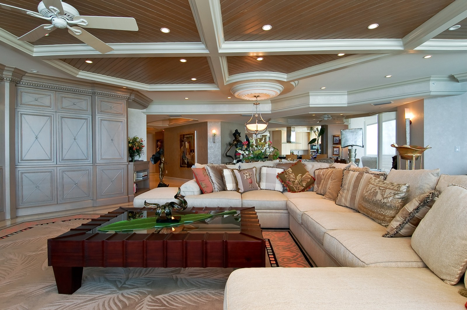 Real Estate Photography - 1700 S Ocean Blvd, 22C, Lauderdale by the Sea, FL, 33062 - Living Room