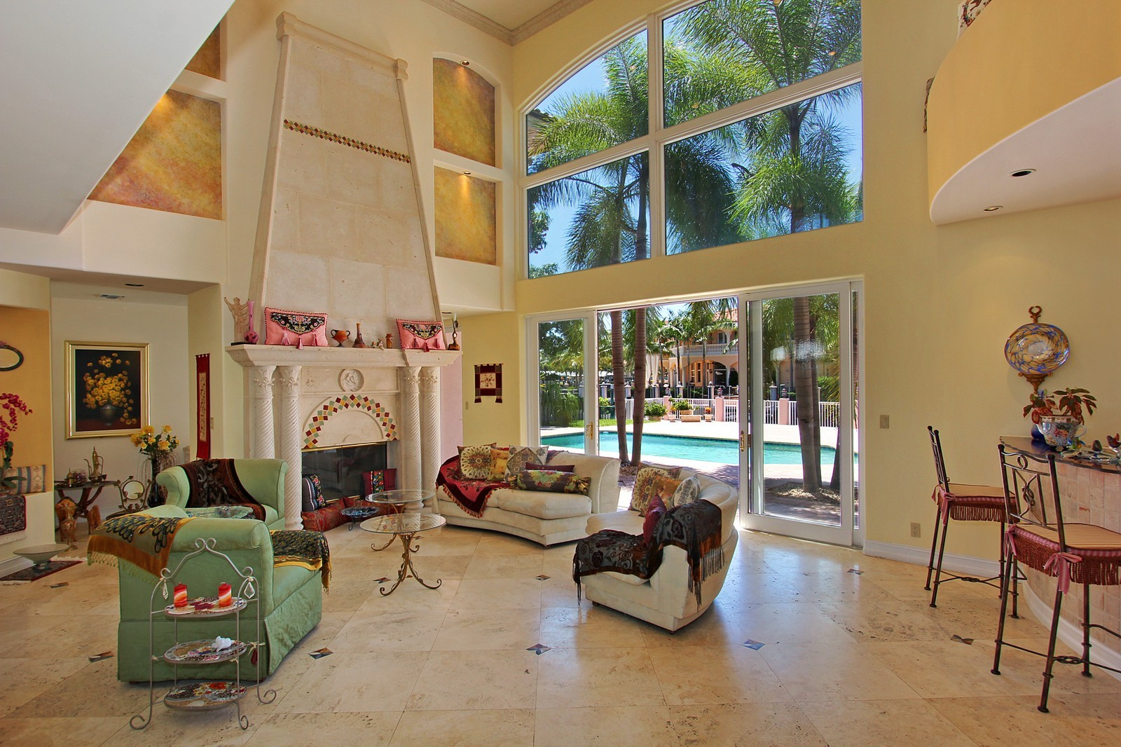Real Estate Photography - 3310 NE 58th St, Fort Lauderdale, FL, 33308 - Living Room
