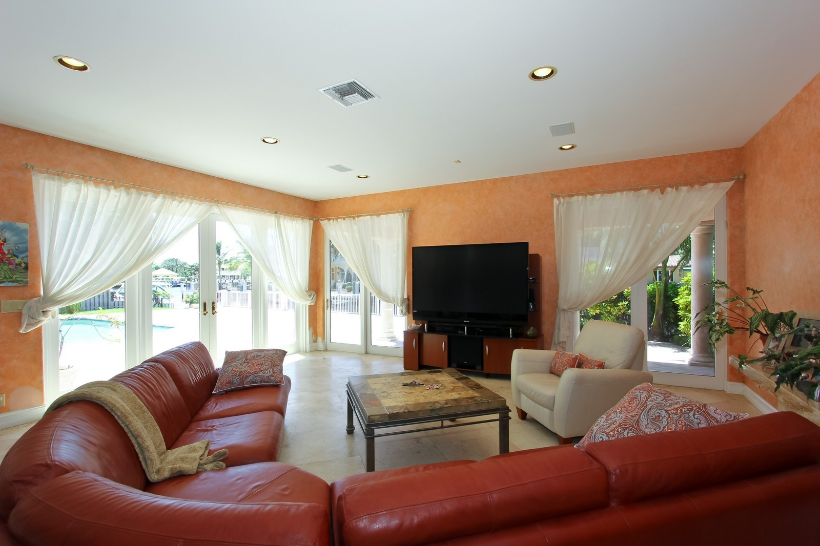 Real Estate Photography - 3310 NE 58th St, Fort Lauderdale, FL, 33308 - Family Room