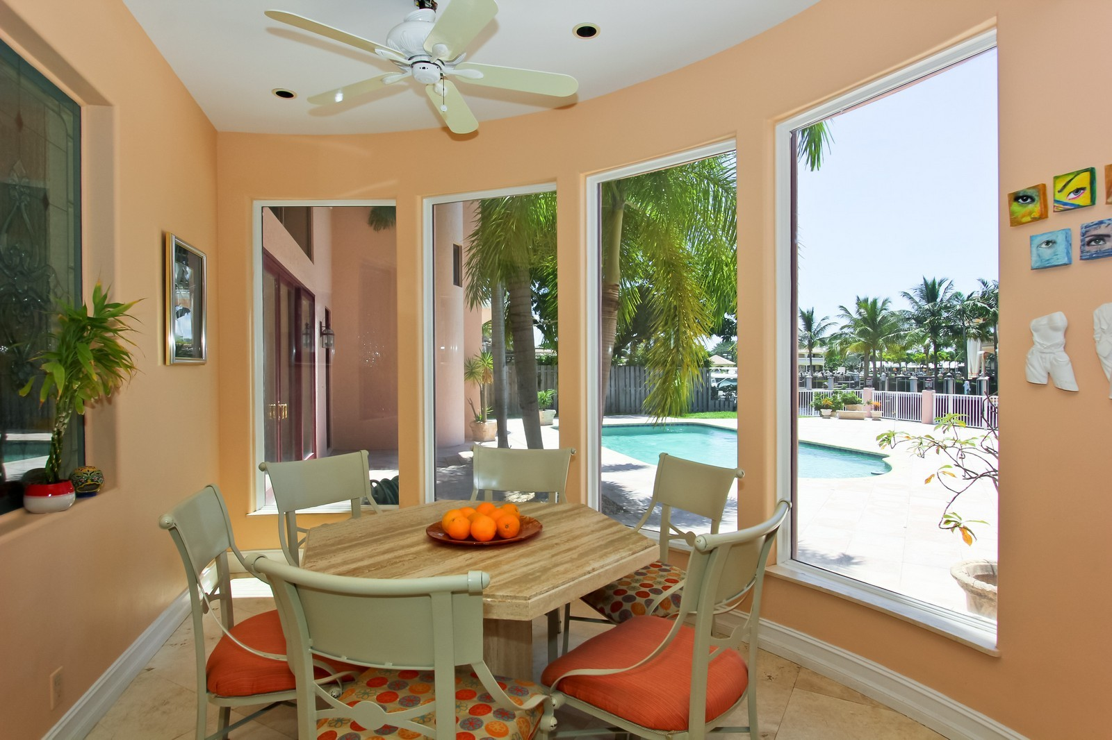 Real Estate Photography - 3310 NE 58th St, Fort Lauderdale, FL, 33308 - Breakfast Nook