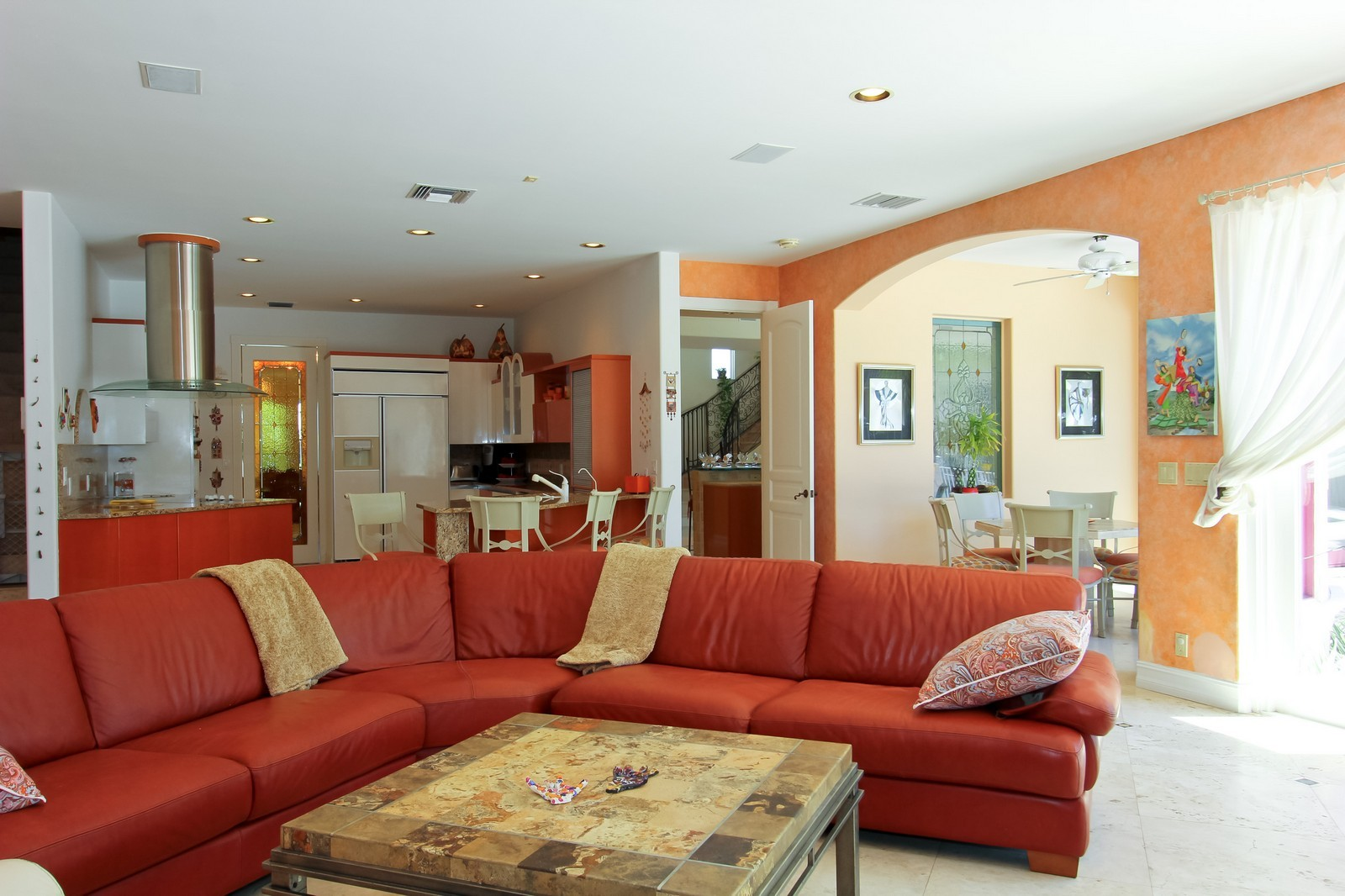 Real Estate Photography - 3310 NE 58th St, Fort Lauderdale, FL, 33308 - Family Room / Kitchen