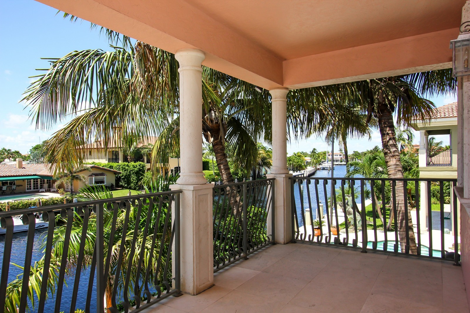 Real Estate Photography - 3310 NE 58th St, Fort Lauderdale, FL, 33308 - Balcony