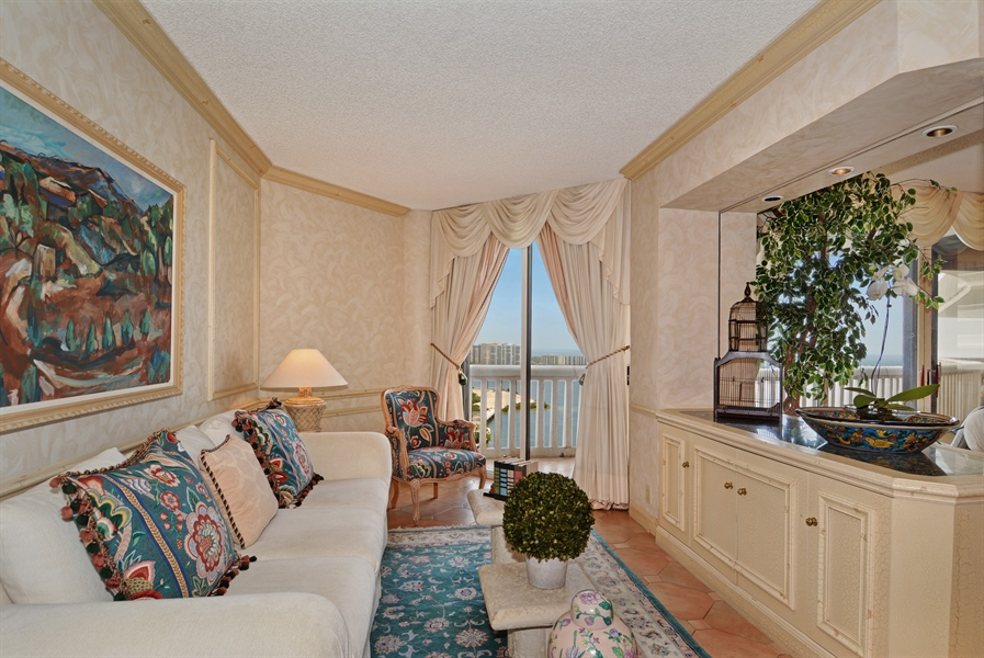 Real Estate Photography - 2800 Island Blvd, Unit 2903, Aventura, FL, 33160 - Bedroom
