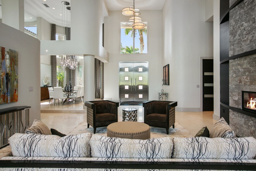 Real Estate Photography - 12709 NW 15 St, Coral Springs, FL, 33071 - Foyer/Living Room