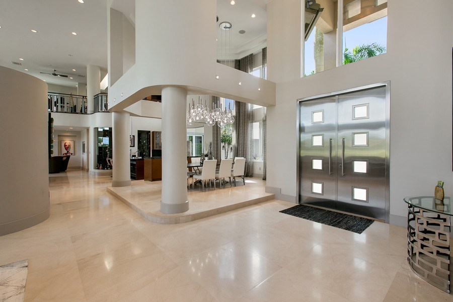 Real Estate Photography - 12709 NW 15 St, Coral Springs, FL, 33071 - Foyer/Dining Room