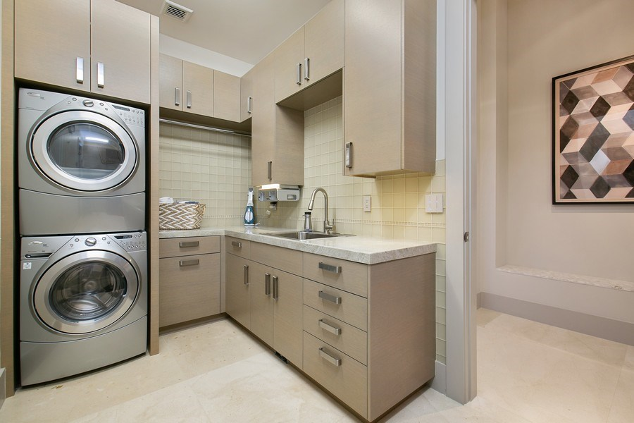 Real Estate Photography - 12709 NW 15 St, Coral Springs, FL, 33071 - Laundry Room