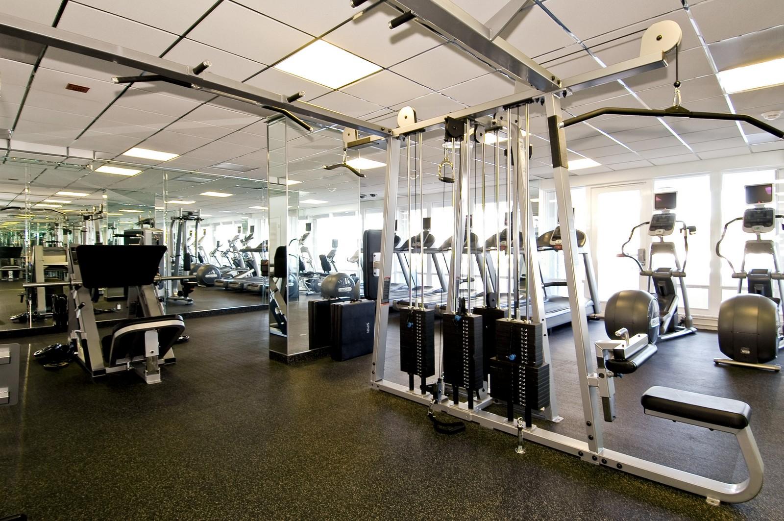 Real Estate Photography - 2200 S Ocean Ln, 206, Fort Lauderdale, FL, 33316 - Gym