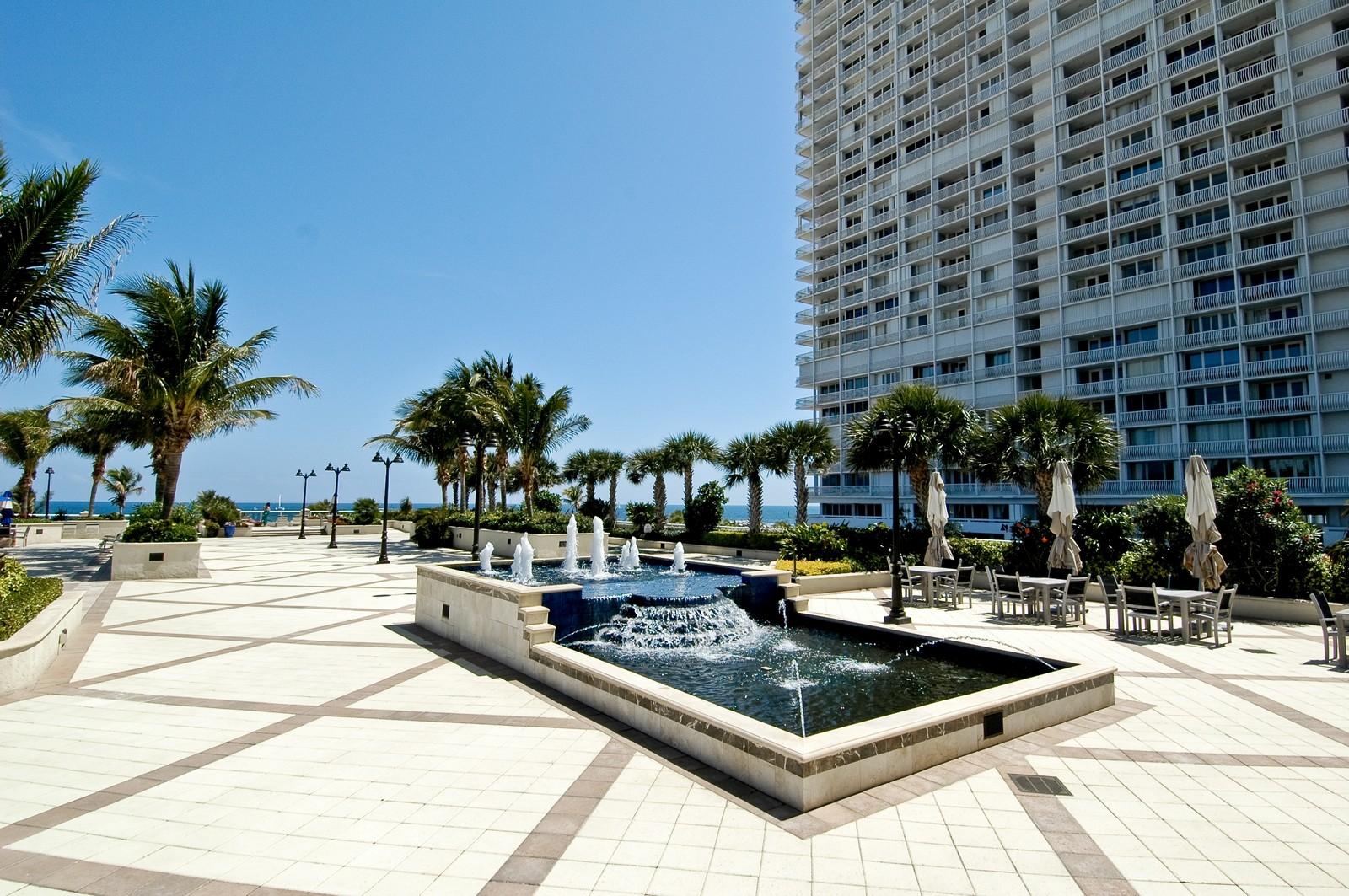 Real Estate Photography - 2200 S Ocean Ln, 206, Fort Lauderdale, FL, 33316 - Common Sundeck