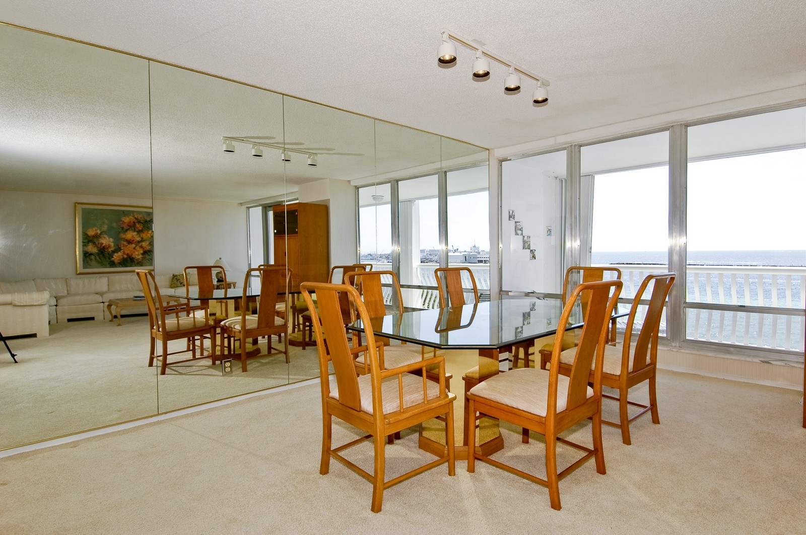 Real Estate Photography - 2200 S Ocean Ln, 206, Fort Lauderdale, FL, 33316 - Dining Room