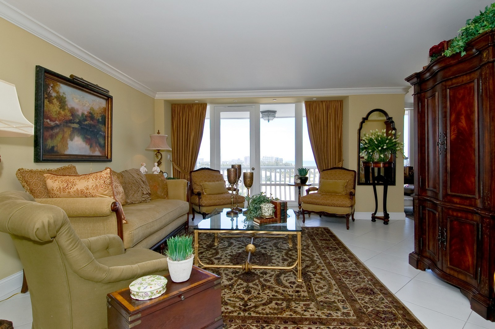 Real Estate Photography - 2200 S Ocean Ln, 1003, Fort Lauderdale, FL, 33316 - Living Room