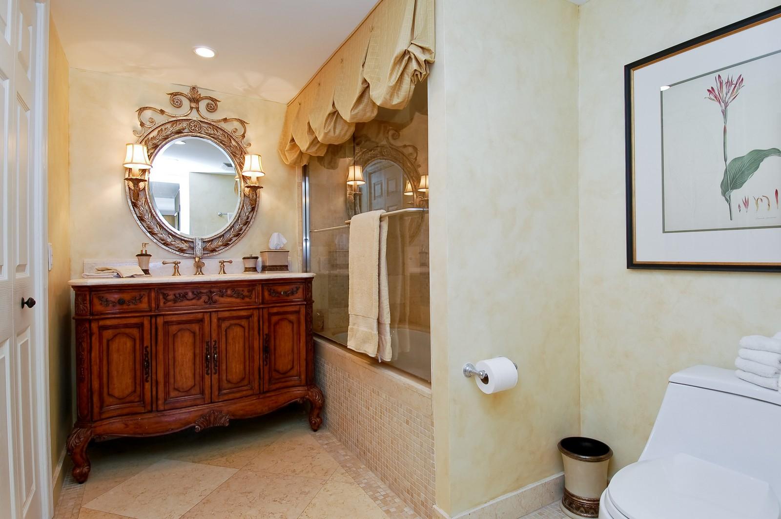 Real Estate Photography - 2200 S Ocean Ln, 1003, Fort Lauderdale, FL, 33316 - Master Bathroom