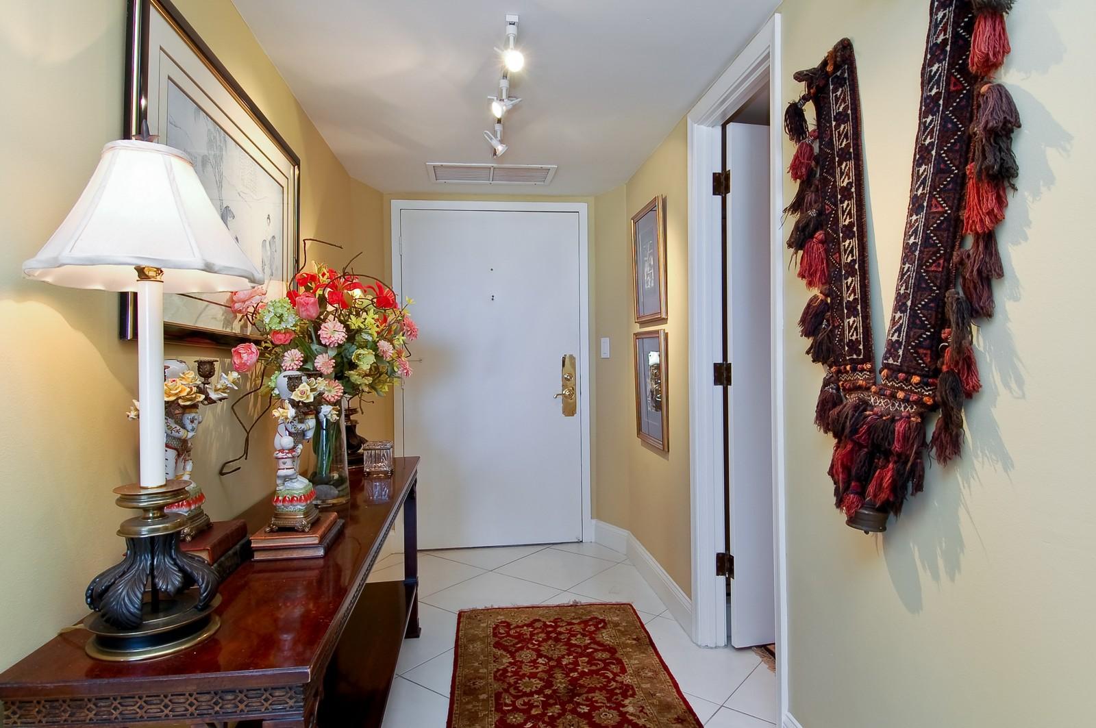 Real Estate Photography - 2200 S Ocean Ln, 1003, Fort Lauderdale, FL, 33316 - Foyer