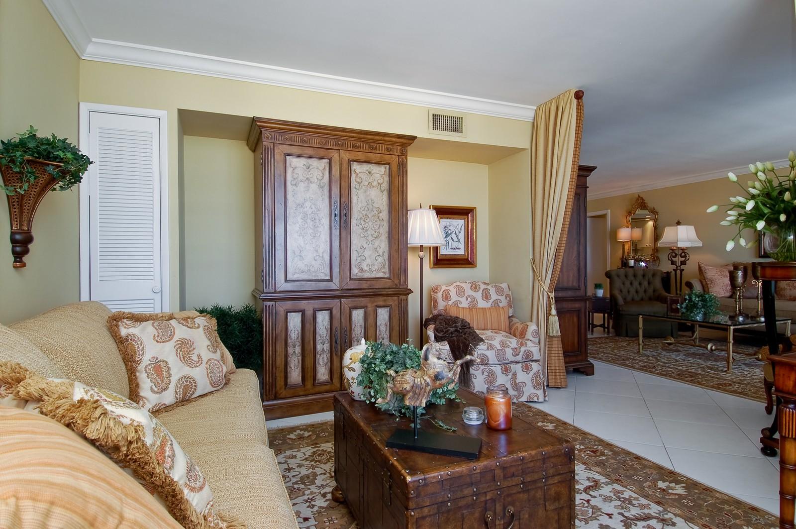 Real Estate Photography - 2200 S Ocean Ln, 1003, Fort Lauderdale, FL, 33316 - Den