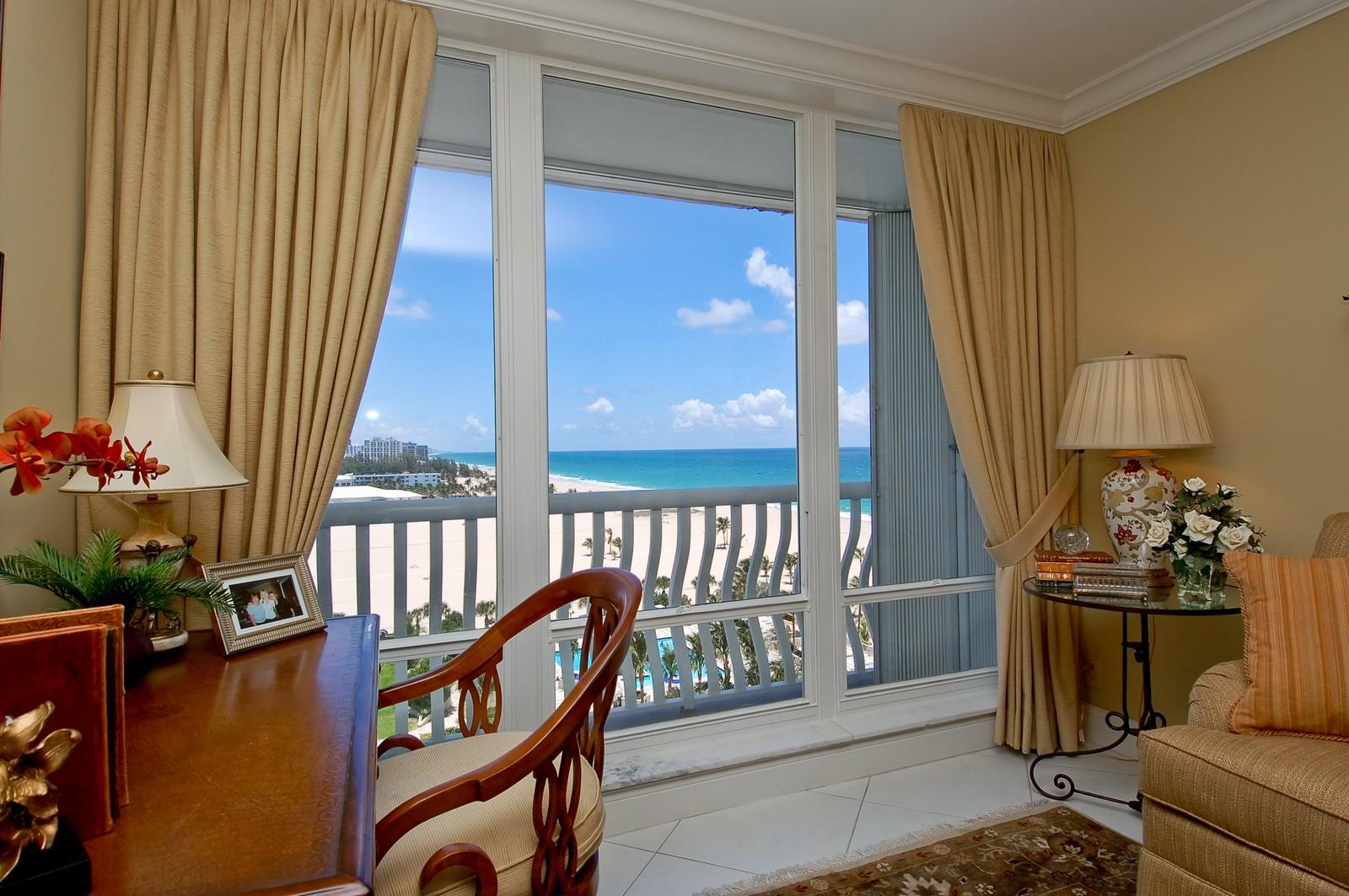 Real Estate Photography - 2200 S Ocean Ln, 1003, Fort Lauderdale, FL, 33316 - Ocean View