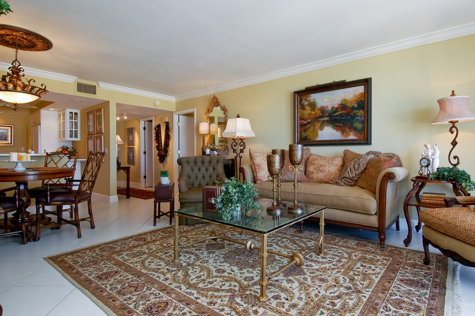 Real Estate Photography - 2200 S Ocean Ln, 1003, Fort Lauderdale, FL, 33316 - Living Room / Dining Room