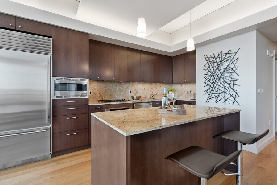 Real Estate Photography - 909 5th Ave, #2300, Seattle, WA, 98164 - Kitchen