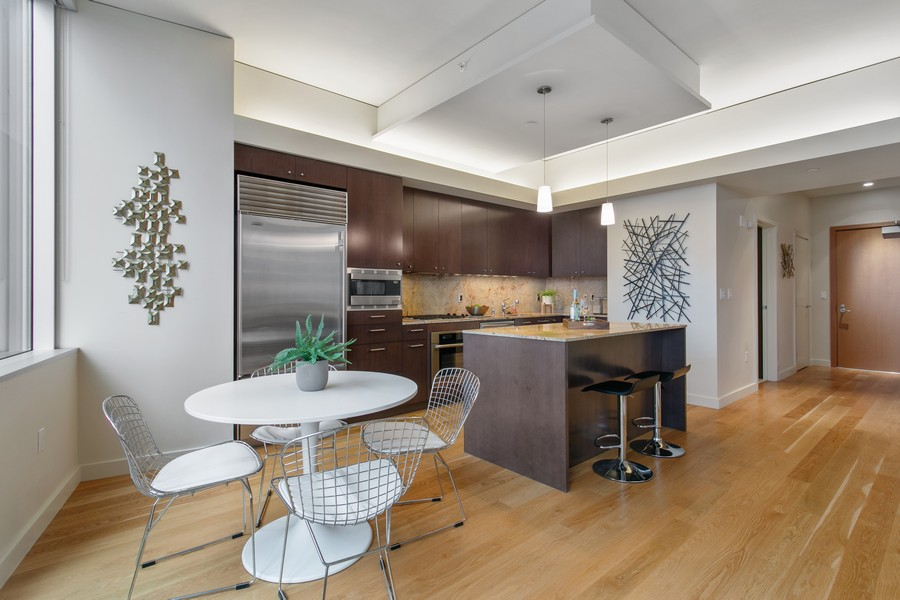 Real Estate Photography - 909 5th Ave, #2300, Seattle, WA, 98164 - Kitchen / Breakfast Room