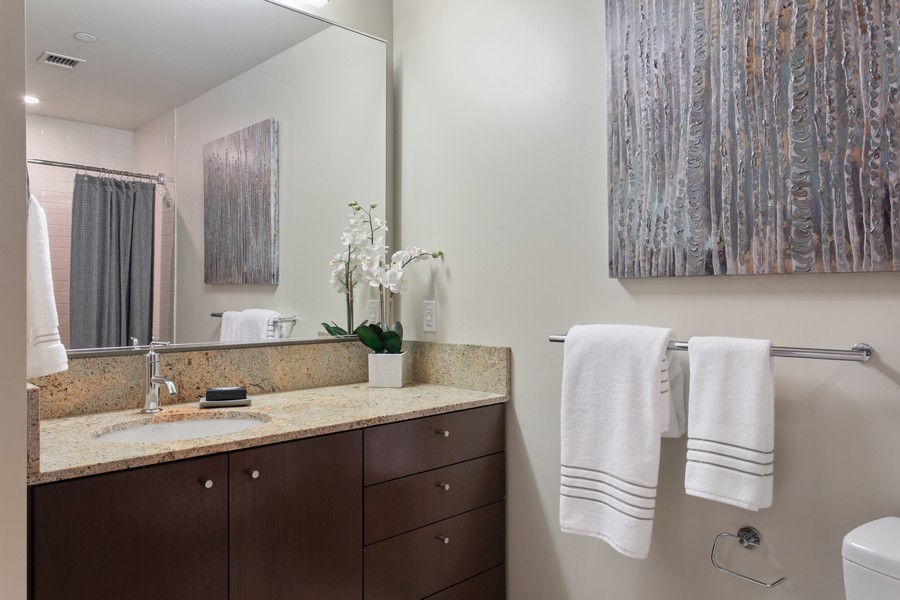 Real Estate Photography - 909 5th Ave, #2300, Seattle, WA, 98164 - Bathroom