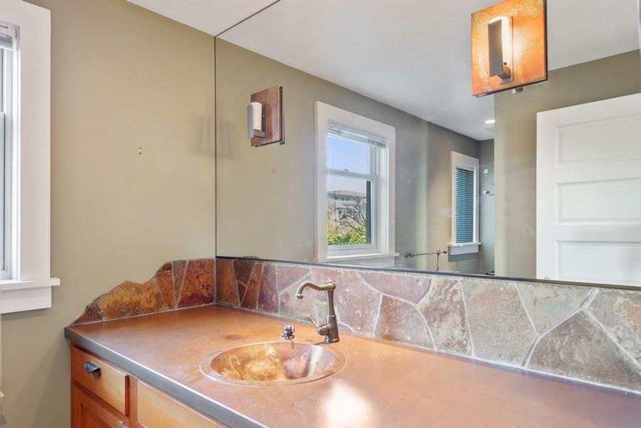 Real Estate Photography - 604 W Kinnear ST UPPER, Seattle, WA, 98119 - Master Bathroom