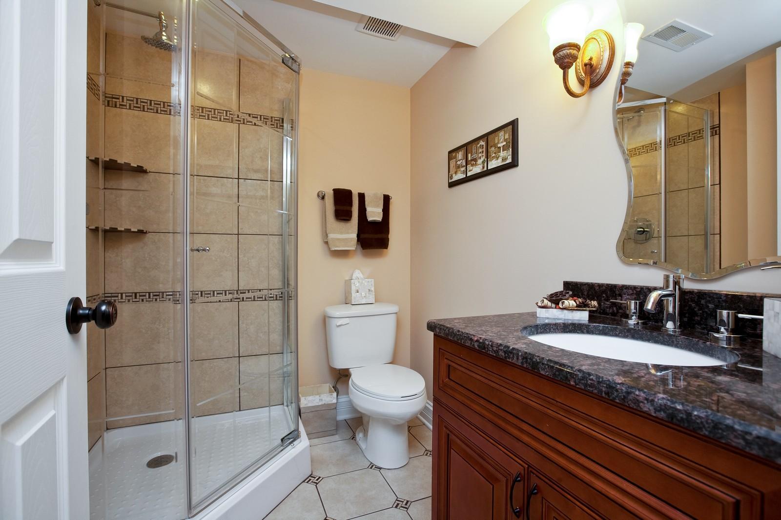 Real Estate Photography - 6617 Natasha Ct, Countryside, IL, 60525 - Bathroom