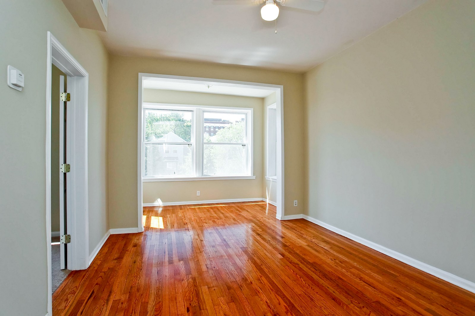 Real Estate Photography - 3332 W Polk St, Chicago, IL, 60624 - Living Room