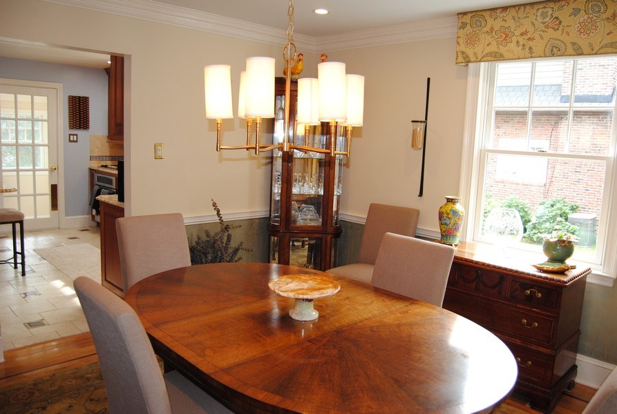 Real Estate Photography - 111 Banbury Way, Wayne, PA, 19087 - Dining Room