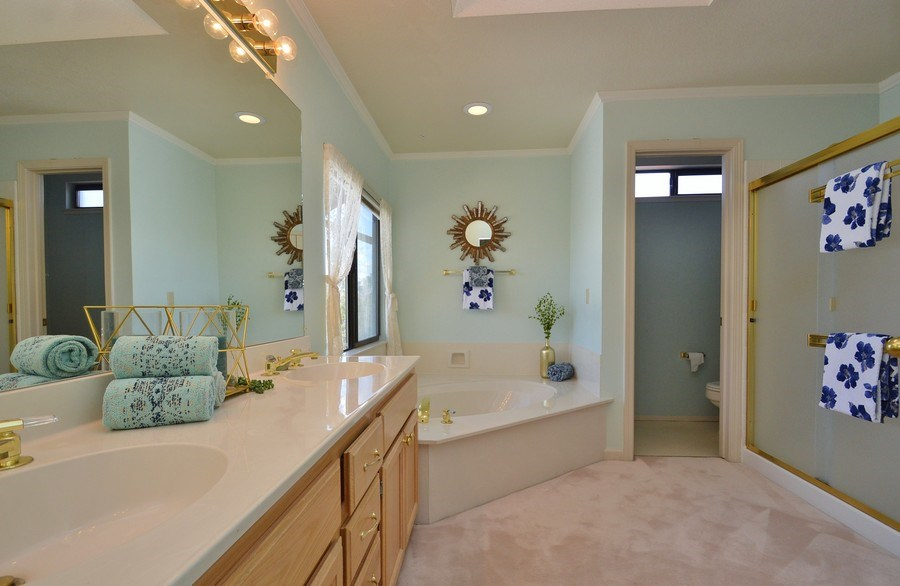 Real Estate Photography - 739 W Boyd Rd, Pleasant Hill, CA, 94523 - Master Bathroom