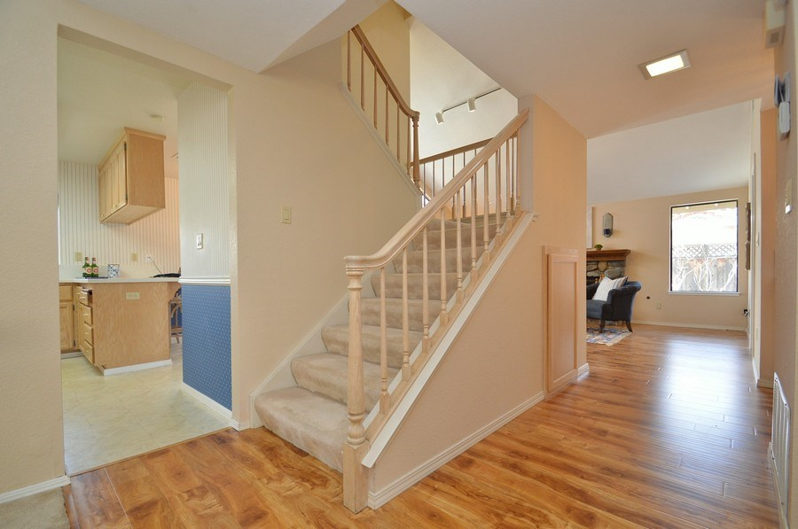 Real Estate Photography - 739 W Boyd Rd, Pleasant Hill, CA, 94523 - Staircase