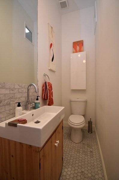 Real Estate Photography - 732 Virginia St, Vallejo, CA, 94590 - Half Bath