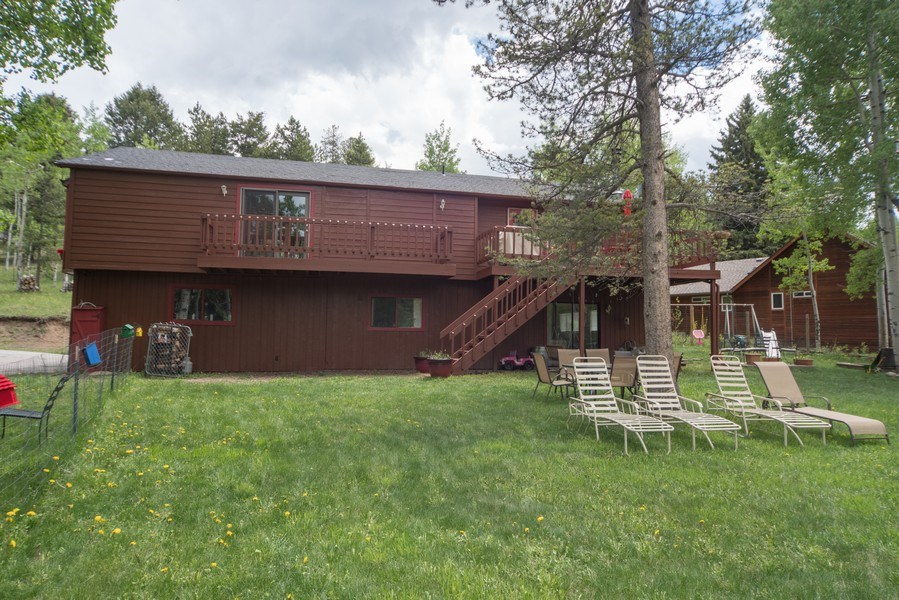 Real Estate Photography - 9030, Rex Lane, Conifer, CO, 80433 - Front View