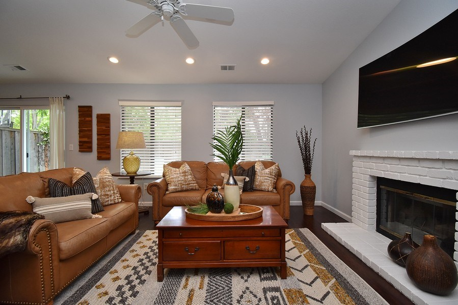 Real Estate Photography - 7 Sandpebble Ct, Danville, CA, 94526 - Living Room