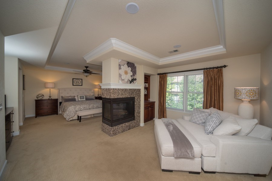 Real Estate Photography - 14345 Kalamath, Westminster, CO, 80023 - Master Suite with Sitting Room
