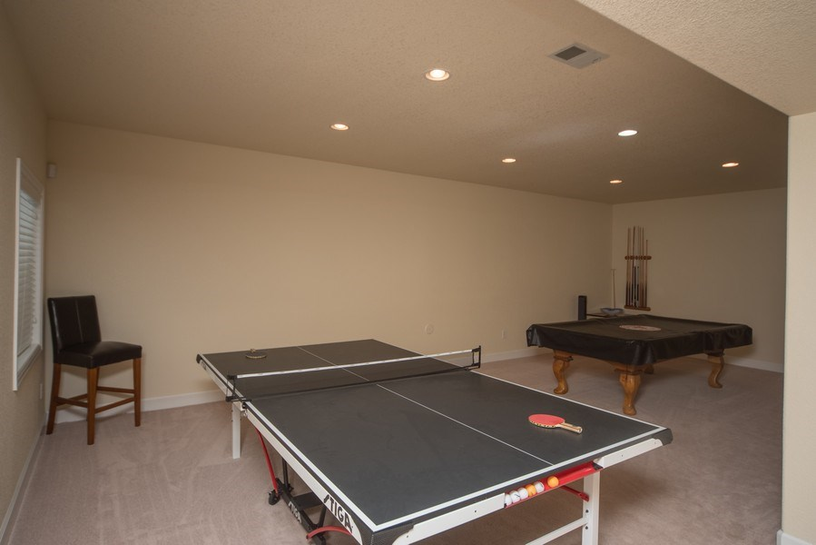 Real Estate Photography - 14345 Kalamath, Westminster, CO, 80023 - Basement Game Room
